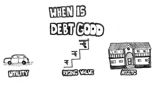 When is debt good?